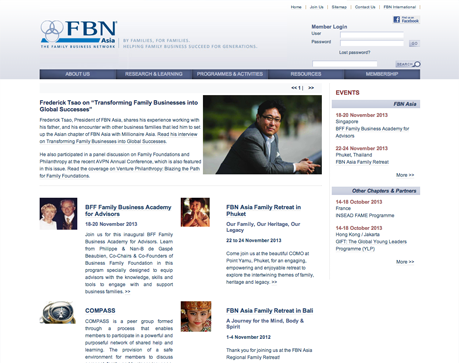 FBN Asia Website Screenshot