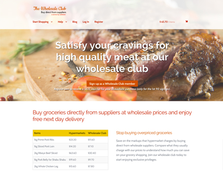 The Wholesale Club - Buy direct from suppliers